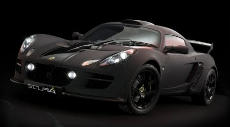 Lotus Exige Scura front