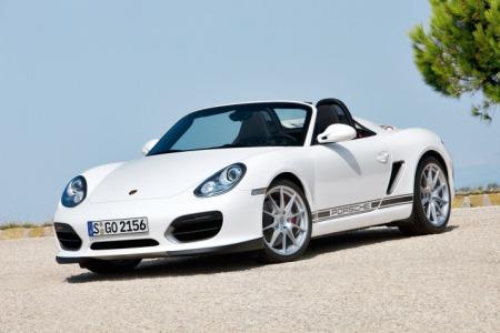 2010 Porsche Boxster Spyder Front