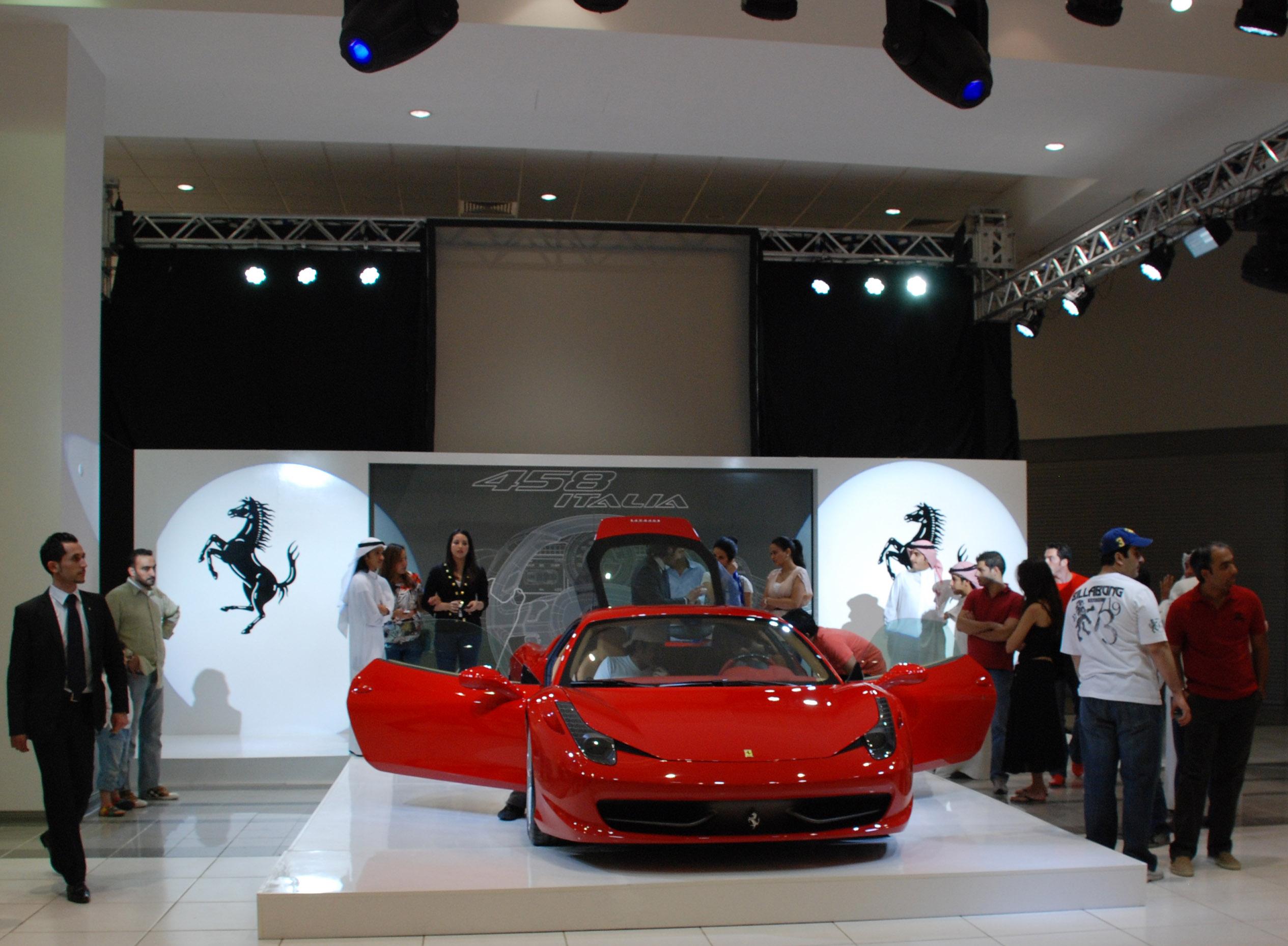 Zayani Launch The Ferrari 458 Italia In Kuwait