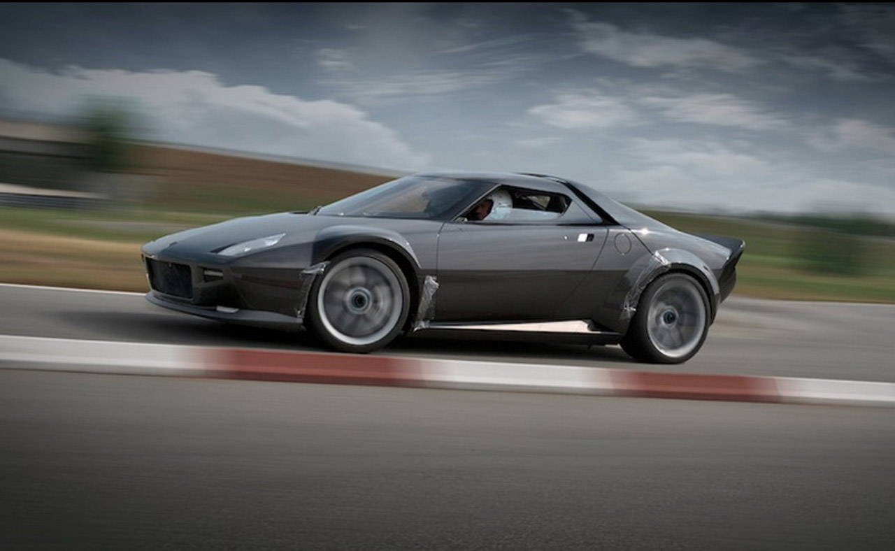Lancia Stratos Revived Brake Banzeen