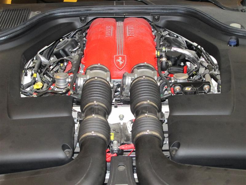 Ferrari California Engine Incredible Car