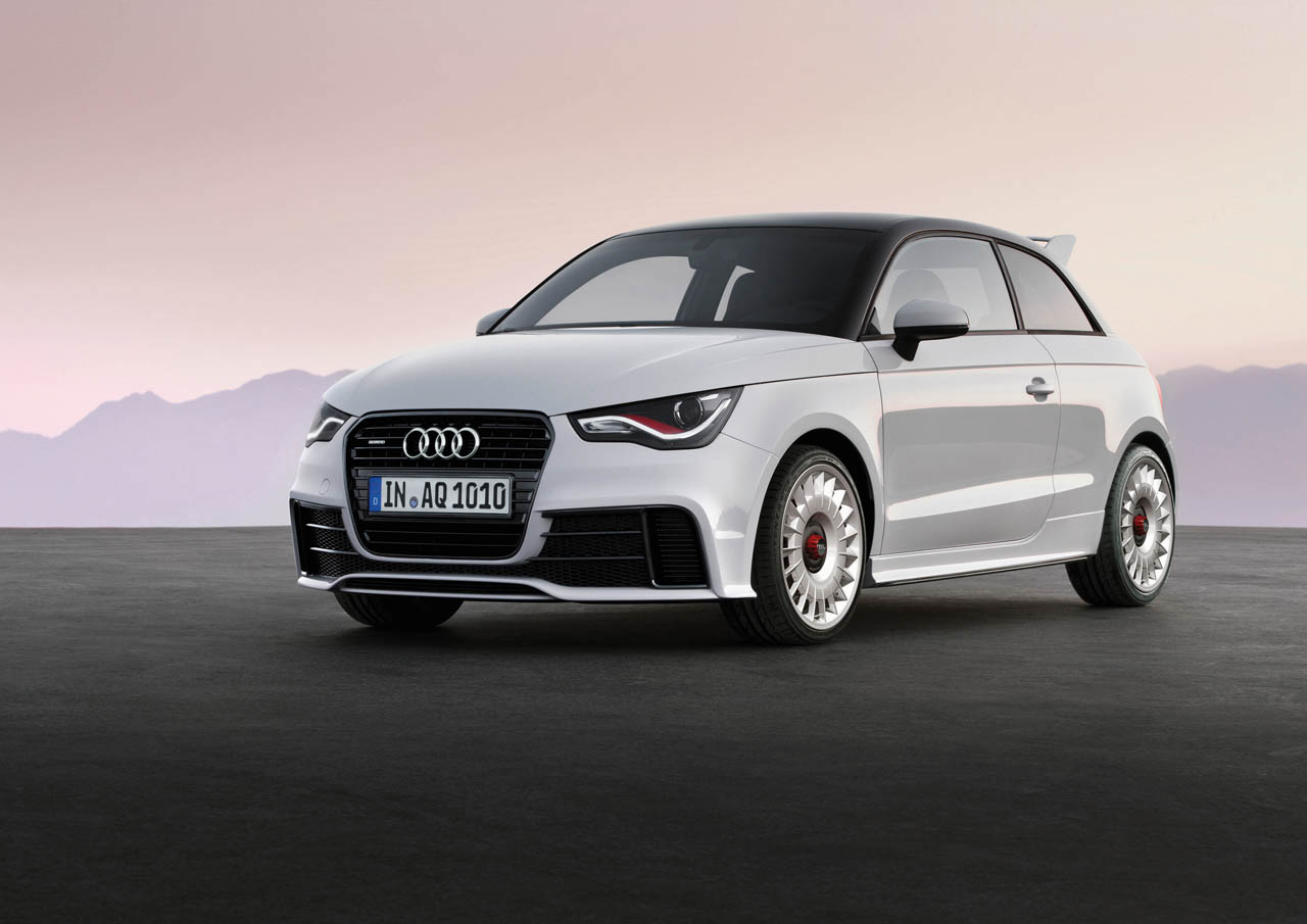 launched! audi a1 quattro | brake banzeen!