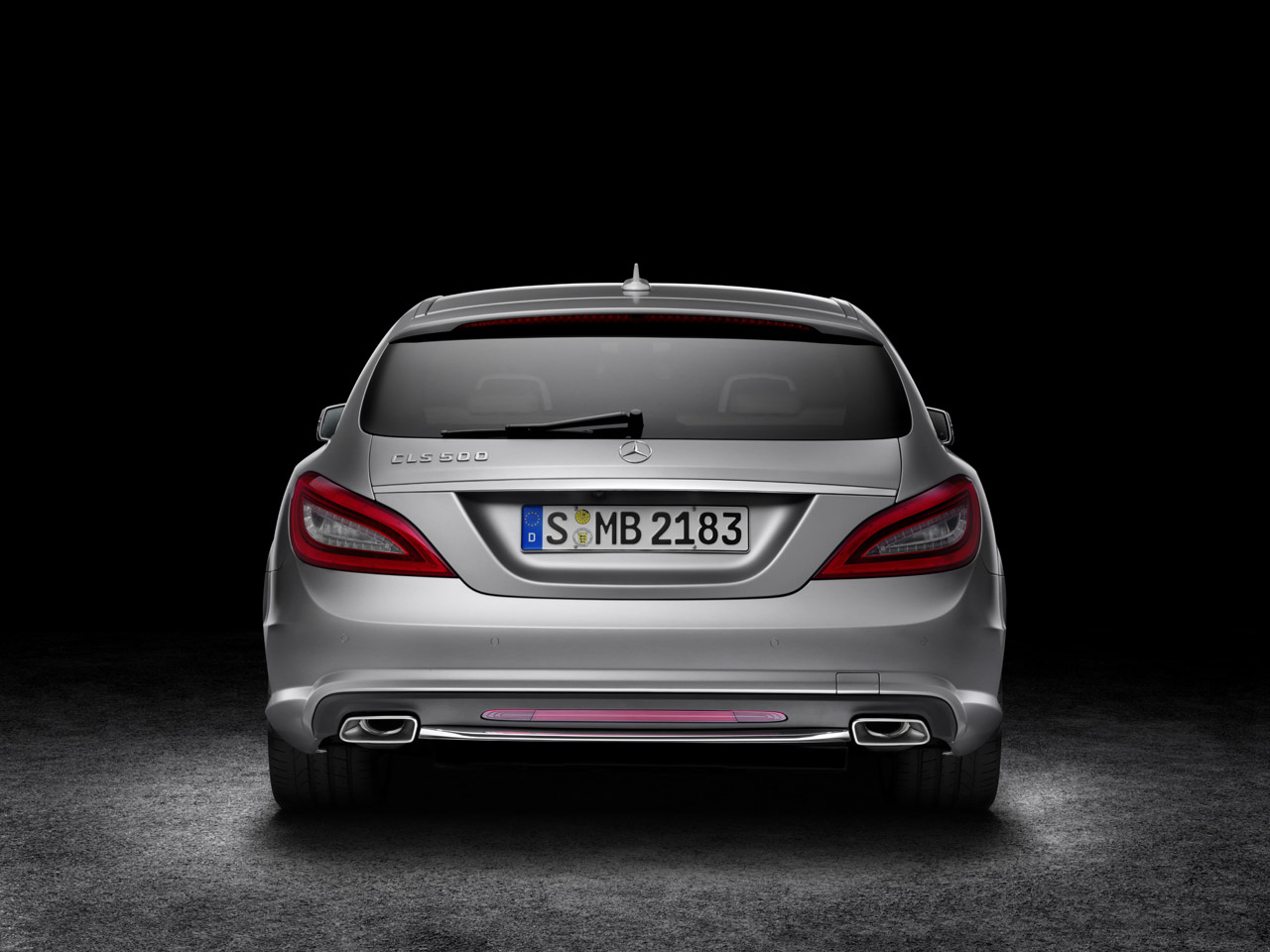 Launched mercedes benz cls shooting brake brake banzeen for Mercedes benz cls station wagon