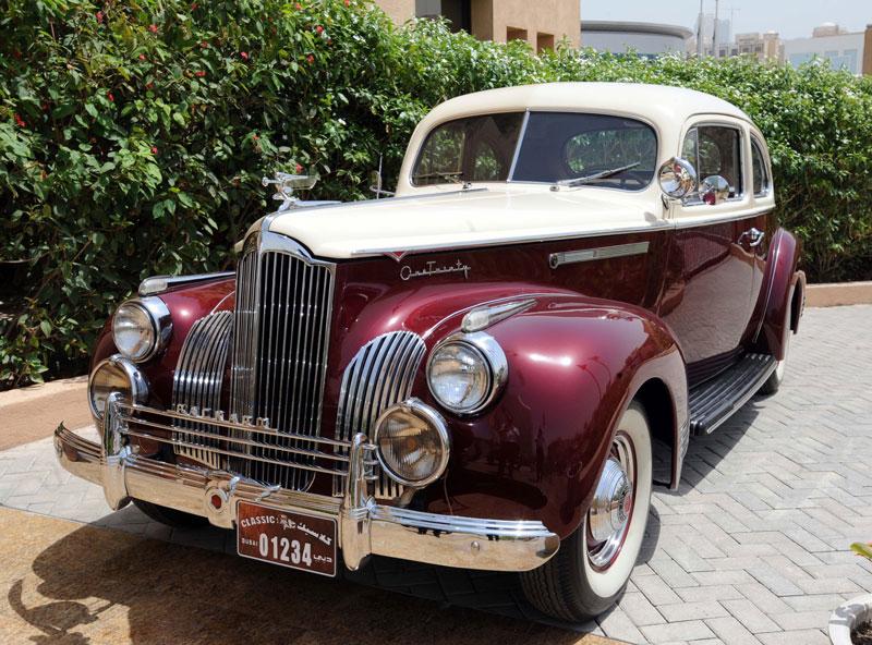uae classic cars unique plates