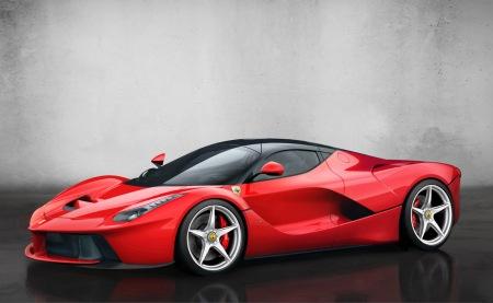 Ferrari-LaFerrari-Profile