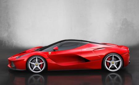 Ferrari-LaFerrari-Side